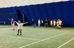 The Boulevard Club Parkdale Community Junior Winter Tennis Program