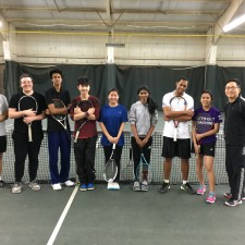 Scarborough Winter Tennis Club (L'Amoreaux) Gives Back to the Philpott Fund