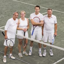 Queens Club Hosting Daniel Nestor presented by the Cross Financial Group