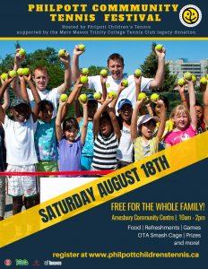 Register for the Community Tennis Festival!