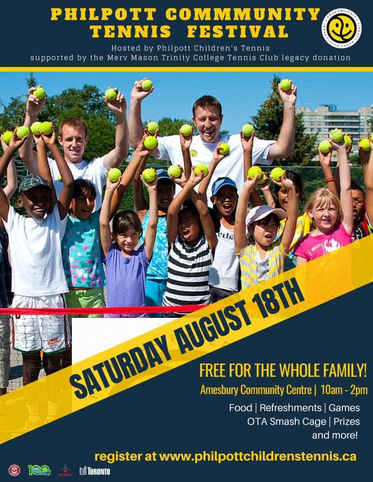 Register for the Community Tennis Festival!