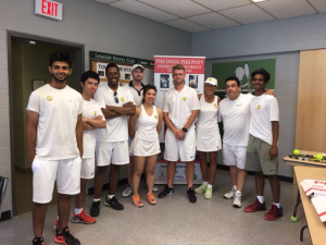 Read more about the article Leaside Tennis Club celebrates Wimbledon and supports Philpott Children's Tennis