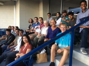 Philpott Instructors Enjoy a Night at the Rogers Cup