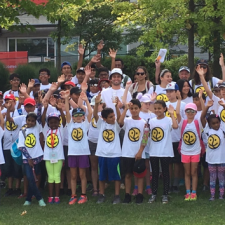 Over 100 Philpott Campers Enjoy A Day at the Rogers Cup