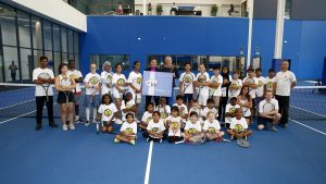 Philpott Children's Tennis partners with Tennis Canada and the WTA Tour to Offer Young Players an Unforgettable Experience
