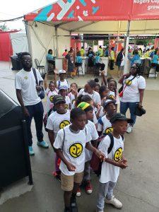 Philpott Kids Visit Rogers Cup